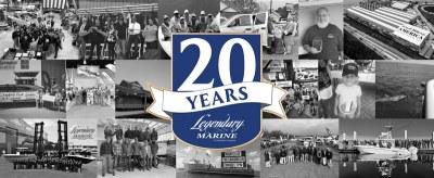 Legendary Marine Celebrating 20th Anniversary