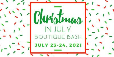 Christmas In July Boutique Bash This Weekend