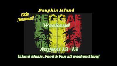 Dauphin Island Reggae Weekend Set For August