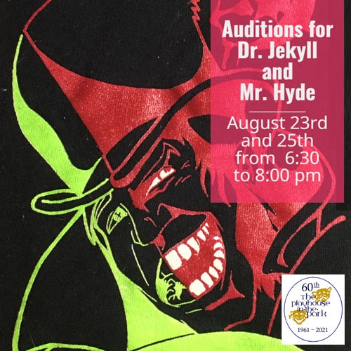 Playhouse at the Park Auditions Coming Up