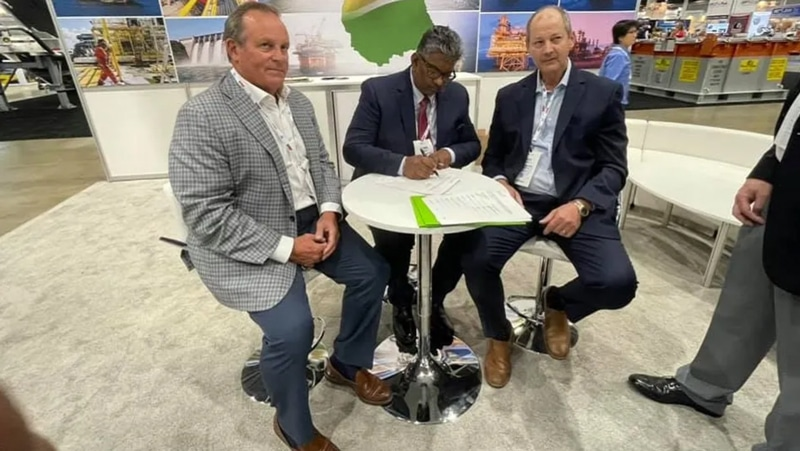 Mobile Firms Sign Pact With Guyana Construction Firm