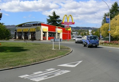 McDonald's in the Village