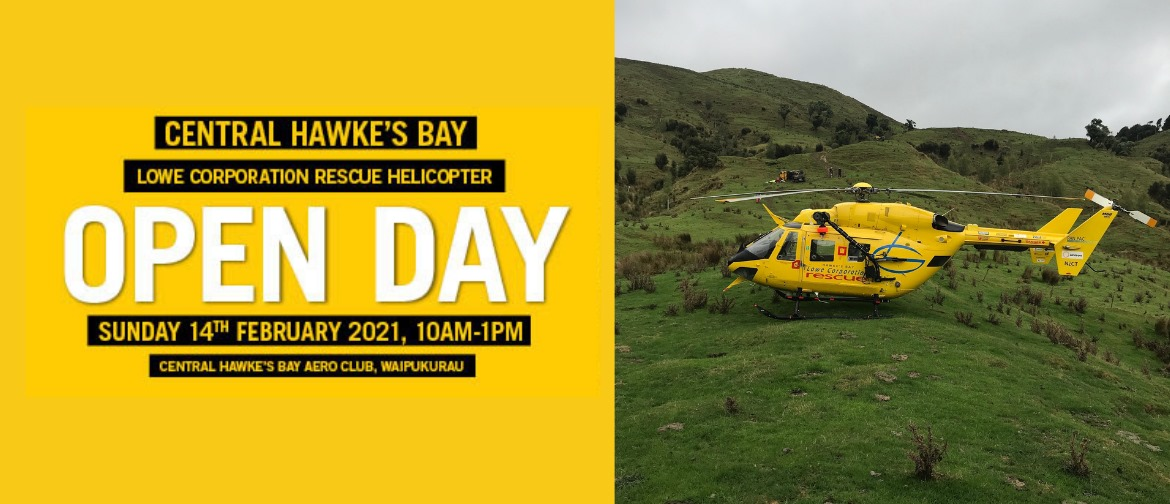CHB Rescue Helicopter Open Day
