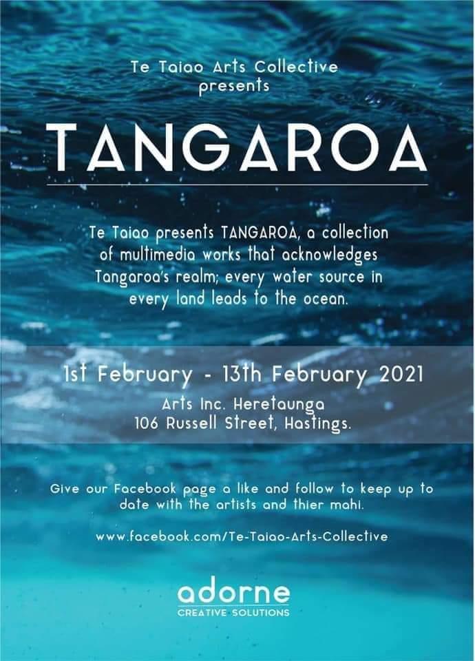 Tangaroa Art Exhibition Opening