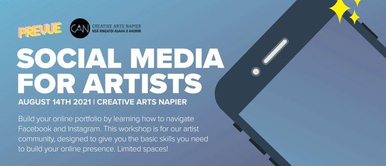 social media for artists workshop