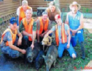 Avon Park Bombing Range -- Eugene, David, John, Matt, Troy, and friends