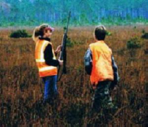 Bombing Range -- Molly and Nathan -- Snipe hunting