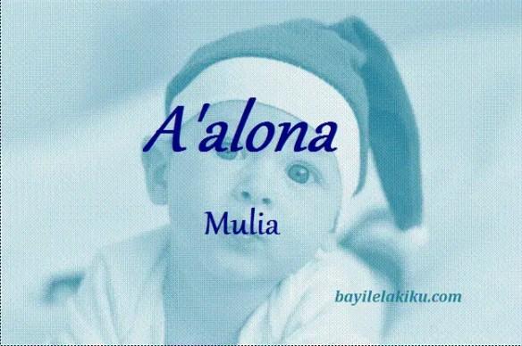 arti nama A'alona