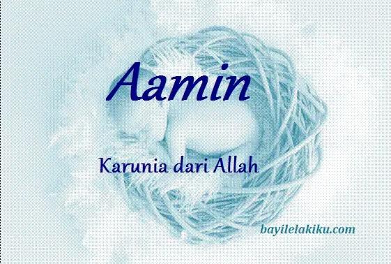 arti nama Aamin