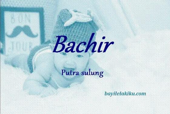 arti nama bachir
