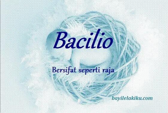 arti nama bacilio