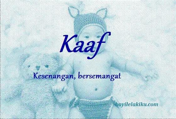 arti nama kaaf
