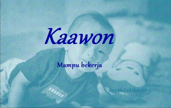 arti nama kaawon