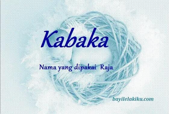 arti nama kabaka