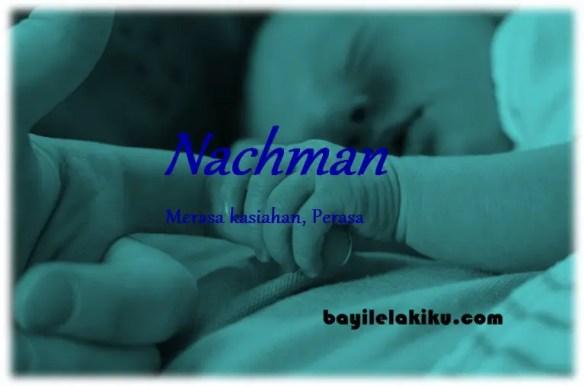 arti nama nachman