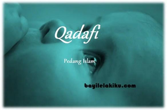 arti nama qadafi
