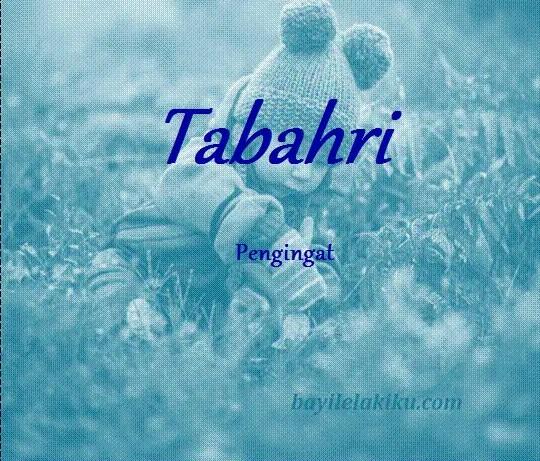 arti nama tabahri