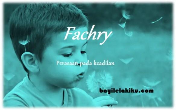 arti nama Fachry