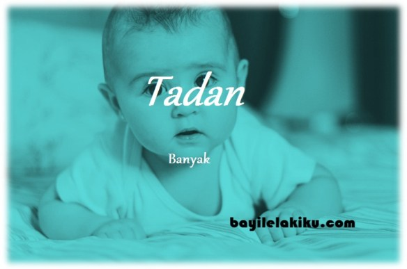 arti nama Tadan