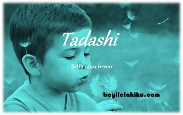 arti nama Tadashi