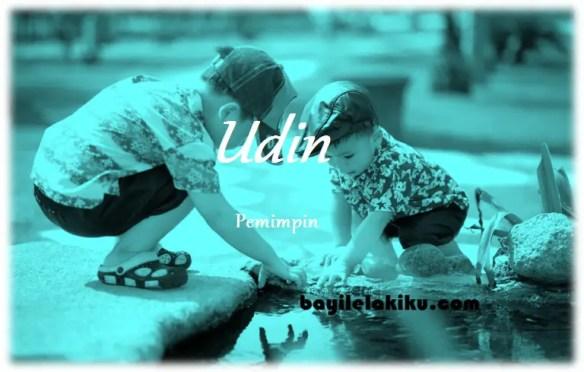 arti nama Udin