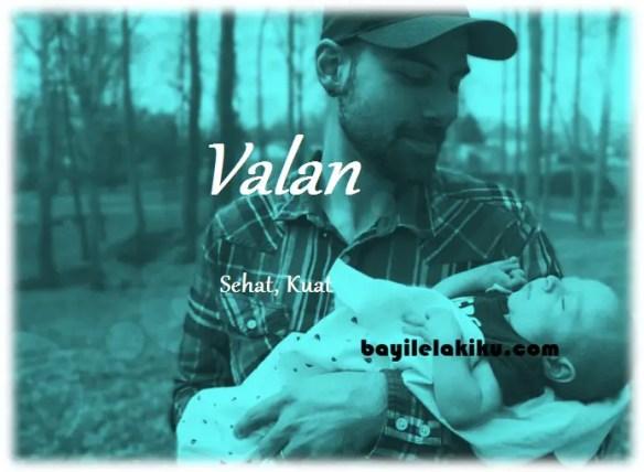 arti nama Valan