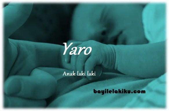 arti nama Yaro