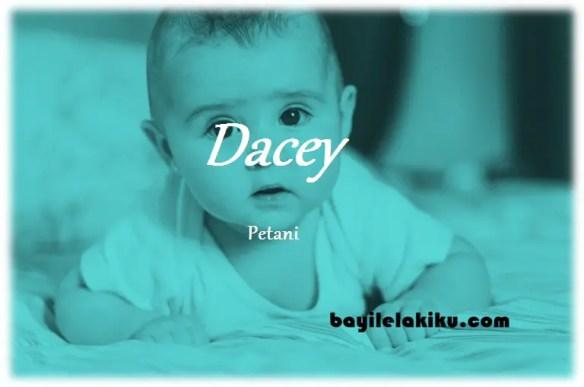 arti nama dacey