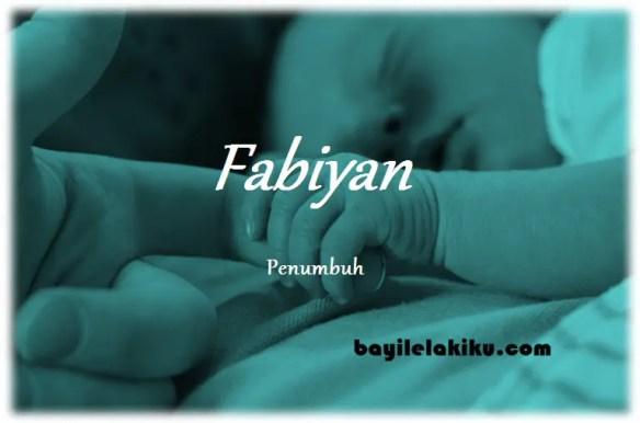 arti nama fabiyan