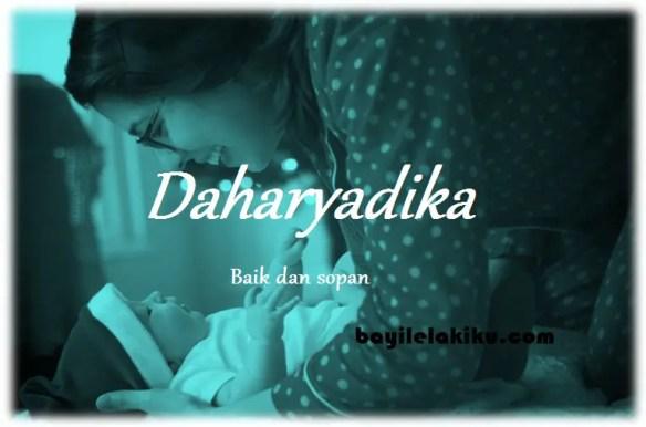 arti nama Daharyadika