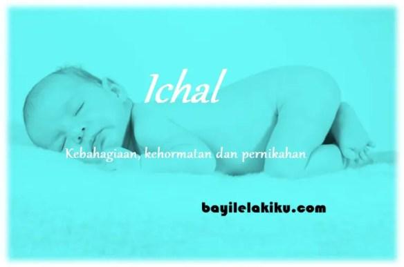 arti nama Ichal