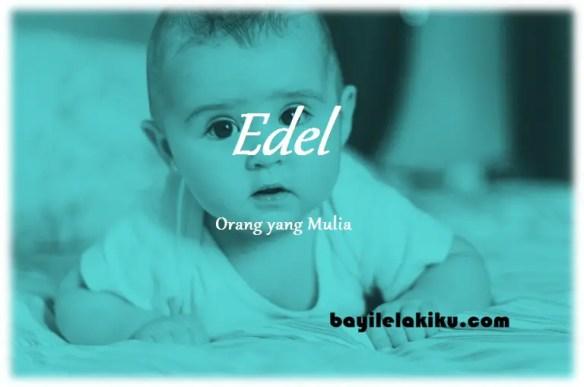 arti nama Edel