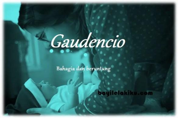 arti nama Gaudencio