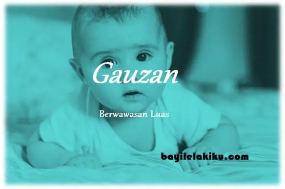 arti nama Gauzan