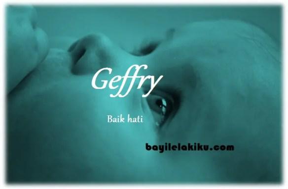 arti nama Geffry