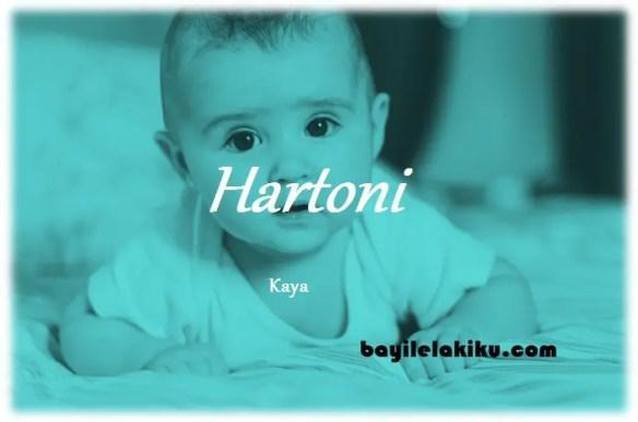 arti nama Hartoni