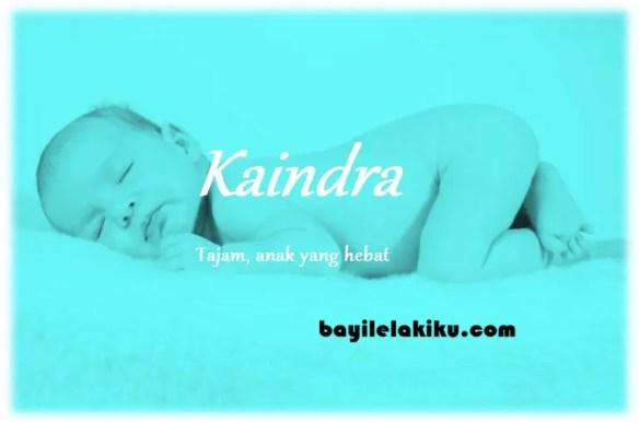 arti nama Kaindra