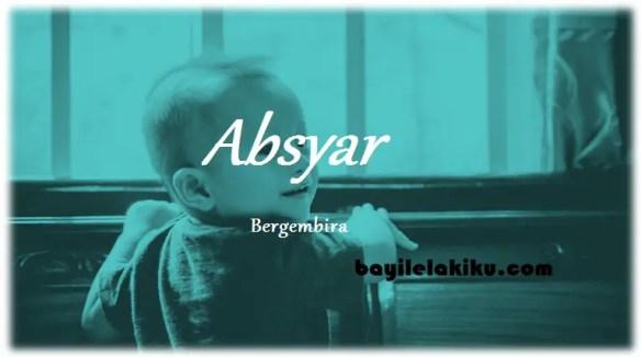arti nama Absyar