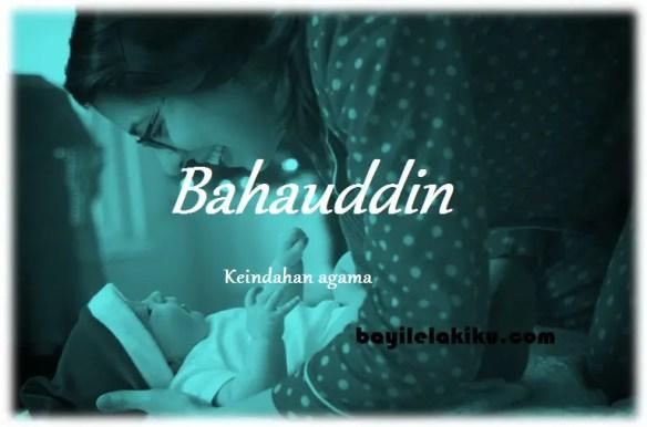 arti nama Bahauddin