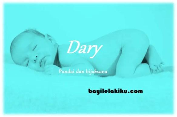 arti nama Dary