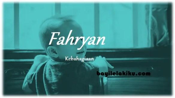 arti nama Fahryan