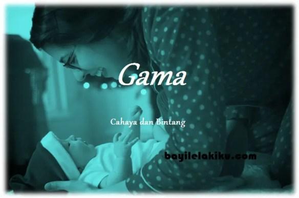 arti nama Gama