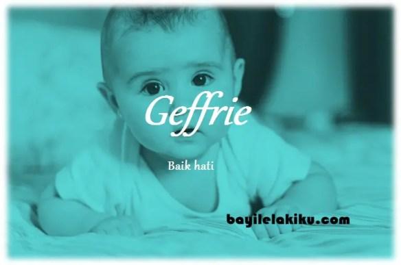 arti nama Geffrie