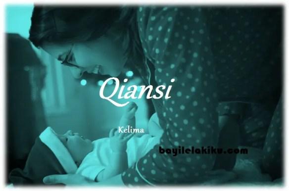 arti nama Qiansi