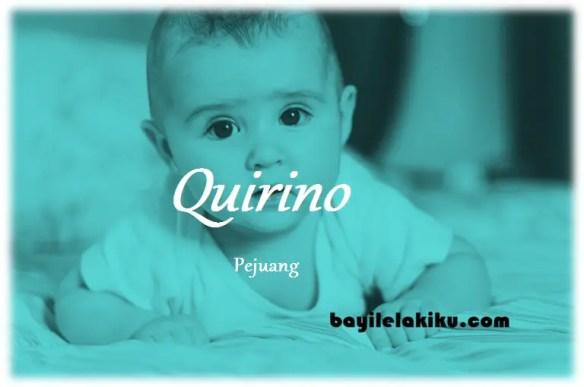 arti nama Quirino