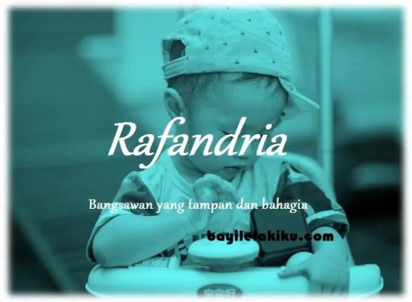 arti nama Rafandria
