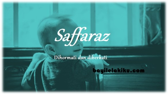 arti nama Saffaraz