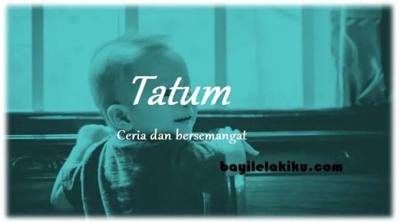 arti nama Tatum