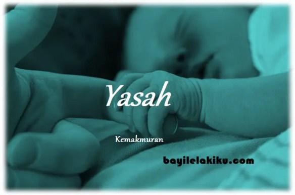 arti nama Yasah