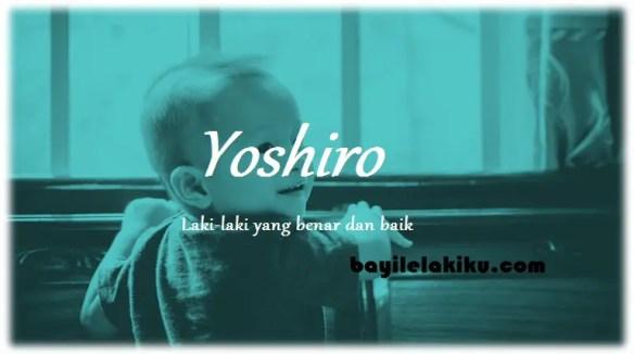 arti nama Yoshiro